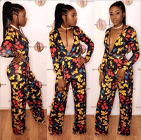 8abb5bb1796 Africa Bazin Riche 18SS s m l xl African Clothing Direct Selling Polyester Women  Dresses Printed 2018 Hot Style Sexy Fashion Jumpsuits