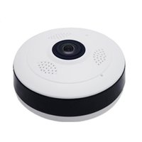 Wholesale webcam ip wifi online - Fisheye VR Panoramic Camera HD P MP Wireless Wifi IP Camera Home Security Surveillance System Camera Wi fi Degree Webcam V380
