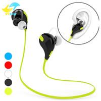 estúdios universal venda por atacado-QY7 fone de Ouvido Bluetooth Fone De Ouvido Bluetooth 4.1 Estéreo Fone De Ouvido Moda Esporte Correndo Fones De Ouvido Estúdio de Música Fone De Ouvido Para Iphone 8 X Samsung