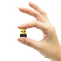 usb wifi adaptador edup venda por atacado-Edup Ep-n8553 Mini Wireless Adapter Para Laptop 150Mbps Wi-Fi receptor para USB PC Ethernet adaptador de rede Cartão de Suporte Windows Mac
