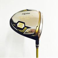 бесплатные игры для гольфа оптовых-Новые гольф-клубы honma BERES S-06 Golf driver 9.5 / 10.5 loft Driver клубы графитовый вал R или S flex бесплатная доставка