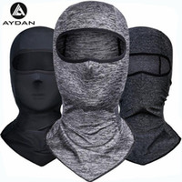 sombreros uv al por mayor-AYDAN Ice Fabric Bicycle Cap Headwear Anti-UV sombrilla Riding Headgear Bicicleta Bike Bandana Sports Sweat Mascarilla Sombrero ScarfIce