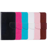 Wholesale iphone 5s case wallet online - Wallet Back Cover Pouch With Card flip leather case for iphone X G G S PLUS S SE Samsung J330 J530 A5