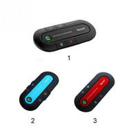 kits de coche móvil al por mayor-BT980 Súper Altavoz Bluetooth Inalámbrico 4.1 Manos libres Kit de Coche Reproductor de música MP3 Para Teléfono Móvil Dual Phone Connect
