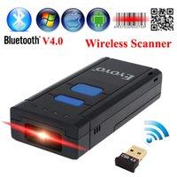 scanner portátil bluetooth venda por atacado-Atacado-MJ-2877 Portátil de Bolso Scanner 2D Sem Fio Leitor de Código QR Bluetooth 2D Barcode Scanner Para Android IOS Scanner Barcod Handheld