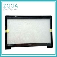 "Wholesale laptop 14 screen - 14"" Laptop Touch Screen Panel Digitizer outer Glass Lens Sensor Frame for ASUS VivoBook S400 s400c S400CA JA-DA5343RA version"