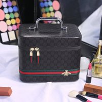 Wholesale Striped Tote Bags - Dropshipping Cheapest Women Makeup Bag Tote Bags Storage Bag Fashion Cosmetic Bag Travel Waterproof Wash Bags