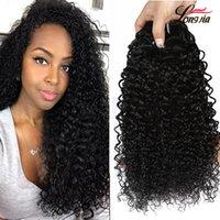 kinky indian insan saçı toptan satış-8a Ham Hint kinky kıvırcık İnsan Saç Uzantıları Işlenmemiş Hint İnsan Saç kıvırcık Örgü Toptan Hint Bakire Saç 3/4 Demetleri