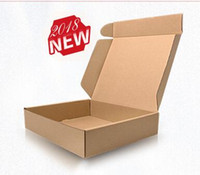 kinder schwarze gummistiefel großhandel-Winter neuer Verpackungskasten der Art und Weise 2018, Verpackungskasten des Schneestiefels, Karton, freies Verschiffen # 611 der vereinigten Größe