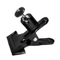Wholesale camera backdrops for sale - Super Clamp Screw Mini Ball Head Tripod for Flash Light Stand Camera Photo Studio Accessories Photography Backdrop