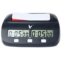ingrosso contare orologio-Digital Triad Chess Clock Count Timer per la concorrenza del gioco Professional Compact Digital Chess Clock Count Up Down