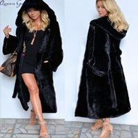 Wholesale mink skirts for sale - 2017 Women s large size long section with skirt jacket imitation mink felted fur coat