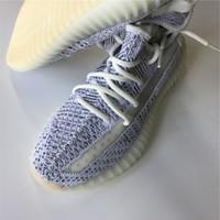 10ad22ecd Originals 350 V2 Running Shoes Kanye West Sply 350 Sport Sneaker Static  Sesame Beluga Zebras With Box 0A0D16