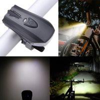 Wholesale waterproof xenon light resale online - MTB Mountain Road Bicycle Front Lights Night Sensor LM Waterproof Cycling Rechargeable Bike Light CE RHOS FCC German Standard