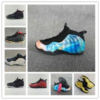 usa zapatos nuevos al por mayor-Nuevo! 2018 para hombre Flight One PRM Galaxy 2.0 Olympic USA 22 colores Hardaway 1 zapatos de baloncesto zapatillas de entrenamiento de calidad deportiva TAMAÑO 41-45