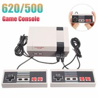 Wholesale nes mini controller resale online - Mini Handheld Game Console Can Store Games Bit Dual Controllers Game Consolers For FC NES Retro Video Game Player