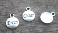 jóias fazendo suprimentos encantos venda por atacado-30 pcs - sonho charme, antigo sonho de prata tibetana pingentes / encantos, diy suprimentos, fazer jóias, 19mm