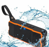 Wholesale mini i phones - Wholesale new type Portable Wireless Bluetooth Speaker Outdoors HD Bass Sound Stereo Pairing,4500mAh IP65 Waterproof Sport for Smart phone i
