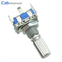 DE 15mm 5-polig Digital- Potentiometer Drehachse Encoder EC11 mit Schalter