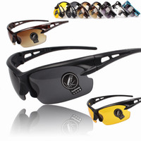 Wholesale cycling online - Riding Sunglasses Eyewear Cycling Goggle Lens Outdoor Sports Sunglasses Driving Eyewear UV400 Colors NNA437