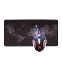 Wholesale Mouse Pad World - 2018 New Fashion Old World Map Mouse Pad Large Pad For Macbook Computer 3mm Thick Gaming Mouse Pad