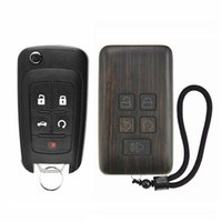 Wholesale car remote key chevrolet resale online - Remote Control Refit Rosewood Car Key Fob Shell Replacement for Buick Chevrolet Circuit Board Battery Excluded