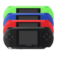 Wholesale video games 16 bit resale online - 2018 mini Handheld Video Game Player PXP3 Bit Inch Screen Portable Game Console TV out Best Kids Gift Free DHL