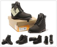 Wholesale cheap womens fashion boots - Cheap Mens womens fashion Couple models plush Keep warm Boots 6 inch waterproof boots hiking waterproof chocolate boots with big tree log