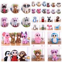 yiwu articles jouets achat en gros de-Ty Beanie Boos en peluche Poupée en peluche Animal Poupée jouets enfants jouet cadeau collection Nouveauté Articles FFA519 60PCS