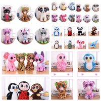 Wholesale ty online - Ty Beanie Boos plush Toy Doll stuffed Animal Doll toys kids toy gift collection Novelty Items FFA519