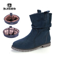 4a4df0ce7c75 CBJSHO New Arrival Autumn Winter Girl Student Booties Fashion Wedges Women  Tassel Boots Warm Shoes Flat Ankle Boots Female