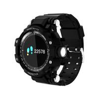 Wholesale digital health bracelet resale online - Smart bracelet watch heart rate multi movement waterproof bluetooth wearable step health watch