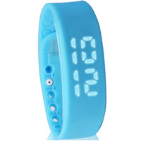 pulsera w2 al por mayor-W2 Smart Watch Bracelet Smart band Mate Podómetro Sleep Monitor Termómetro Track Calorías Quemadas Flex Fitness Band
