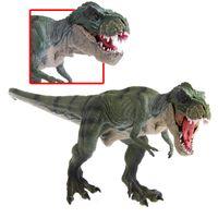 vidéo pour enfants achat en gros de-Nouveau Monde Jurassique Parc Tyrannosaurus Rex Dinosaure En Plastique Jouet Modèle Enfants Cadeaux Films Jeu Vidéo Dessin Animé