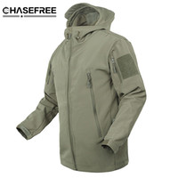 Wholesale waterproof military jacket for sale - Brand Jacket V5 Military Tactical Men Jacket Lurker Shark Skin Soft Shell Waterproof Windproof Men Windbreaker Jacket Coat