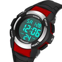 reloj de grandes buceadores al por mayor-Best Selling Sport Sport Diver Big dial reloj de calidad superior de los hombres Unisex resistente al agua negro azul rojo color luminoso regalo de lujo más barato