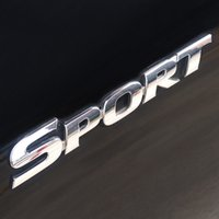 Wholesale car chrome emblem decal logo for sale - 3D ABS Chrome Logo Car Sticker SPORT Emblem Badge Door Decal Auto Accessories for Toyota Highlander BMW HONDA VW KIA Car Styling