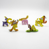Wholesale boys products resale online - Children New Product D Stereoscopic Small Puzzle Multi Style Modeling Cartoon Animals Letter Toys Gift For Kid yh W