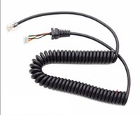 Wholesale walkie dtmf resale online - DTMF Microphone Mic Cable Cord MH A6J For Yaesu Two Way Radio Walkie Talkie FT FT M FT FT M FT FT R