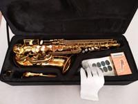 Wholesale alto professional for sale - Group buy High quality Japan Yanagisawa A901 Alto Saxophone Gold Professional E flat Sax Alto Saxophone saxophone