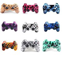 Wholesale wireless controller wholesale - Bluetooth Wireless Controller for PS3 PlayStation3 game controller gamepad joystick DHL B-JYP