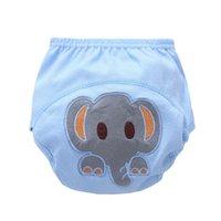 ingrosso pantaloni di formazione dei neonati-Baby Boy Girl Training Pants Pantaloni impermeabili Mutandine intimo neonato Pannolini per il nuoto Pannolino Mutandine