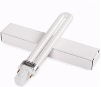 lâmpadas para lâmpadas uv venda por atacado-9W UV lâmpada UV secadores de unhas Gel Cura Nail Art UV prego lâmpada