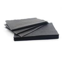 bavoirs imperméables noirs achat en gros de-125pcs 13