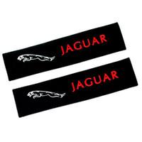 ingrosso sedili jaguari-1 paio di copri cinture in cotone per seggiolino auto Copriscarpe auto con cintura di sicurezza Coppia per Jaguar