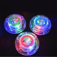 venta de luces led niños al por mayor-Nuevo LED Rave Lights Juguetes de baño Fiesta en la tina Luz Lámpara de baño impermeable para niños Ducha de bañera Venta caliente 5 15cy Z