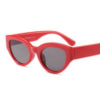 Lunettes de soleil rétro rouge femmes oeil de chat 2018 noir léopard blanc chat  oeil lunettes de soleil pour femmes femmes hommes uv400 f01731116685