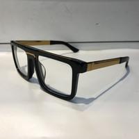 ingrosso gli occhi vuoti-Luxury 0078 Occhiali per uomo Fashion Brand Design Popolare Scava fuori Lente ottica Cat Eye Full Frame Nero Tartaruga d'argento Vieni con il pacchetto