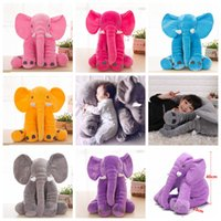 Wholesale giant stuffed animals for sale - Baby Sleeping Pillow Elephant toy Stuffed Giant cm Animal Plush Soft Cuddling Toy Baby Sleeping Soft Pillow Toy colors FFA131