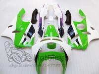 kit de carenado kawasaki zx6r 1997 verde al por mayor-